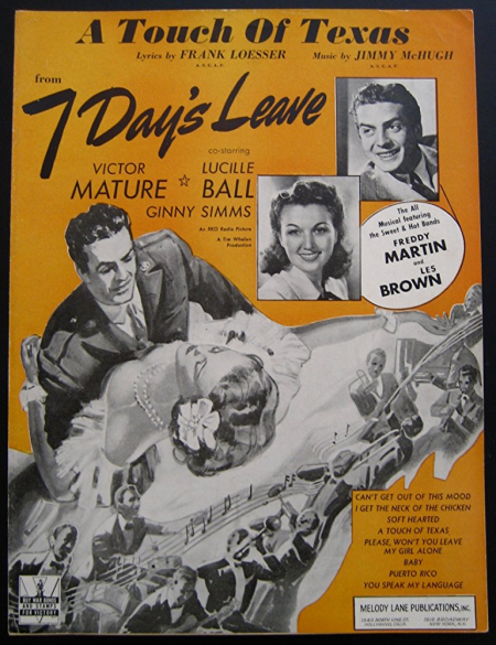 Seven days leave 1942