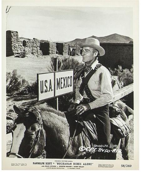 Buchanan Rides Alone 1958 a