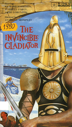Invincible gladiator vhs