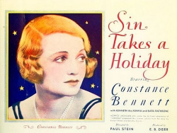 Sin Takes A Holiday 1930 h