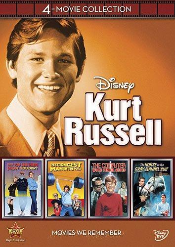 Kurt Russell - Disney 4 Movie Collection