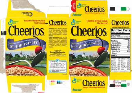 Cheerios spoon bridge package