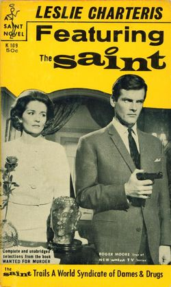 Featuring The Saint by Leslie Charteris