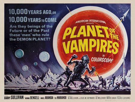 Planet of te vampires horizonatal