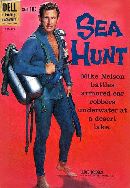 Sea hunt mike-nelson-comic
