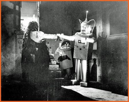 Aztec mummy robot