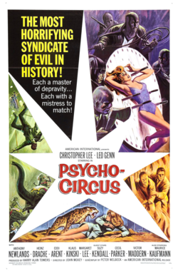 Circus Of Fear 1966 alt title a