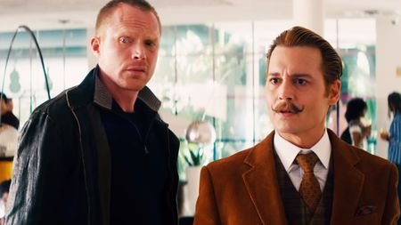 Mortdecai - jock and his boss