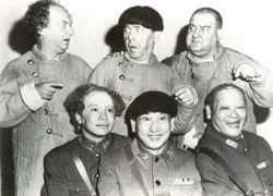 The Three Stooges Go Around The World In A Daze clones