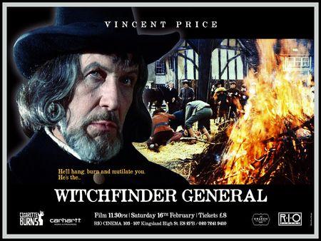 WITCHFINDER GENERAL - Silver Ferox Design