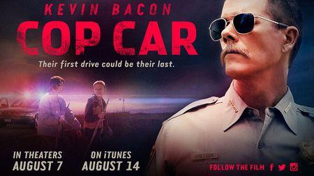 Cop car horizontal