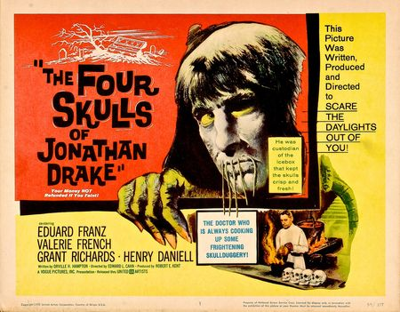 The Four Skulls Of Jonathan Drake 1959