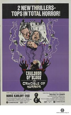 Cauldron-of-blood-1970-and-crucible-of-horror-poster
