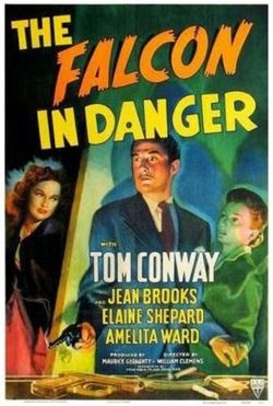 The falcon in danger poster