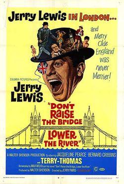 Dont raise the bridge lower the river