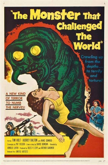 The-Monster-That-Challenged-the-World-1957-Movie-Poster-Style-A-11x17-Inch-Mini-Poster