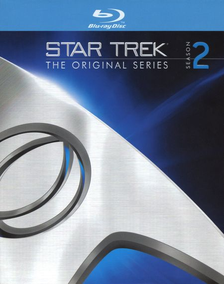 Star trek season 2 blu-ray