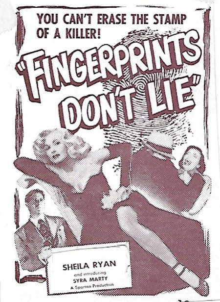 Fingerprints Don't Lie 1951 c