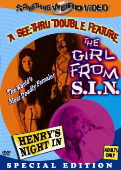 The Girl From S.I.N. 1966 dvd