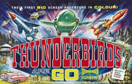 Thunderbirds are go hor poster a