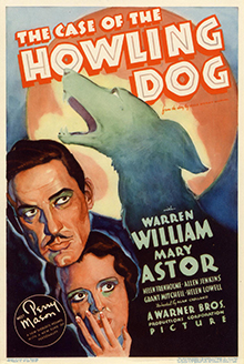 The case of the Howling Dog 1934