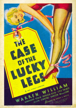 The Case Of The Lucky Legs 1935 poster