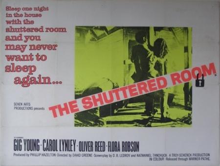 The shuttered room hor poster