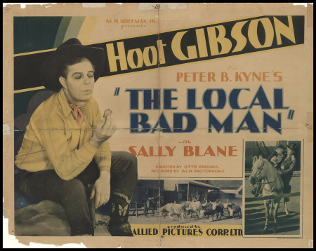 The local bad man hor poster