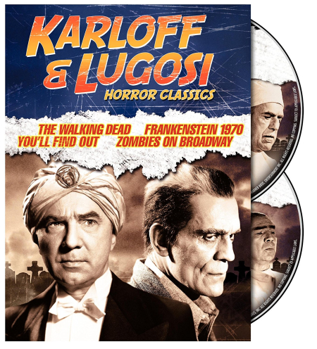 Karloff and lugosi horror classics a