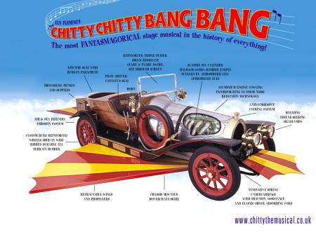 Chitty chitty bang bang cut away