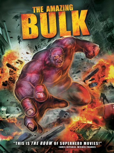 The amazing bulk - poster