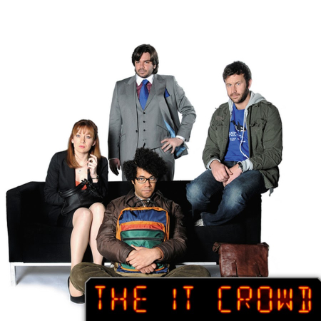 The IT Crowd Series 3the cast