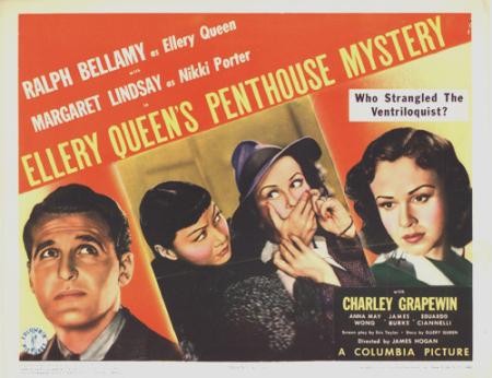 Ellery Queen's Penthouse Mystery 1941