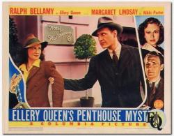Ellery Queen's Penthouse Mystery 1941 c