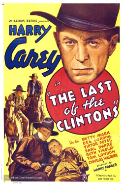 The last of the clintons 1935 poster