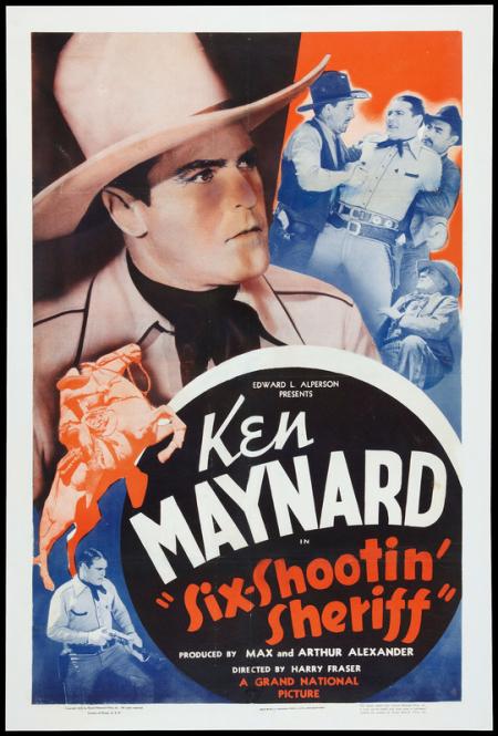 Six-Shooting' Sheriff 1938 a