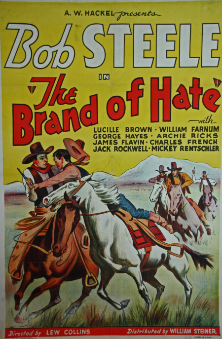 The Brand Of Hate 1934