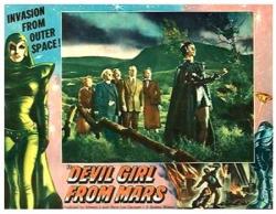 Devil girl from mars lobby