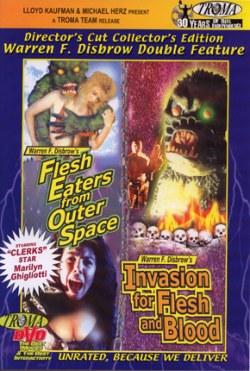 Flesh eaters from outer space VHS