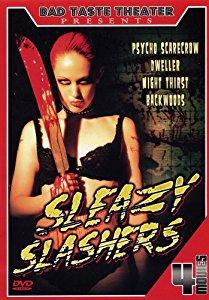 Sleazy Slashers 4 Movie Dvd Set