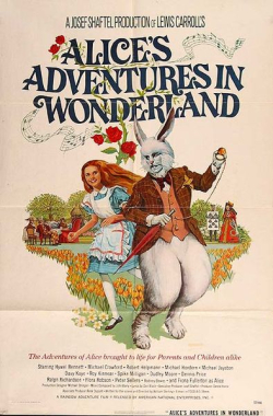 Alice's adventures in wondrland poster