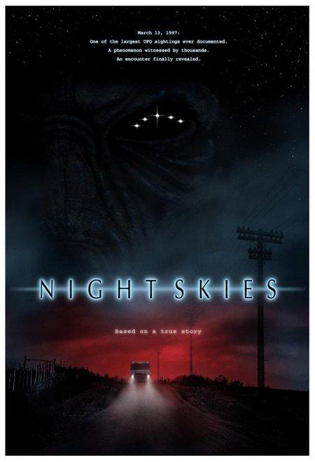 Night skies poster'
