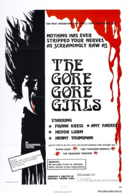 Gore gore girls poster