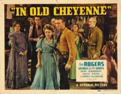 In Old Cheyenne 1941 i