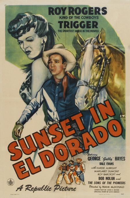 Sunset in El Dorado_poster