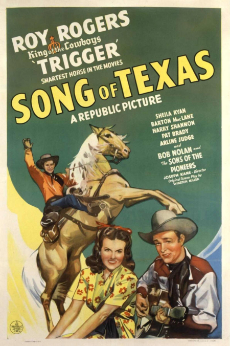 Song of Texas 1943