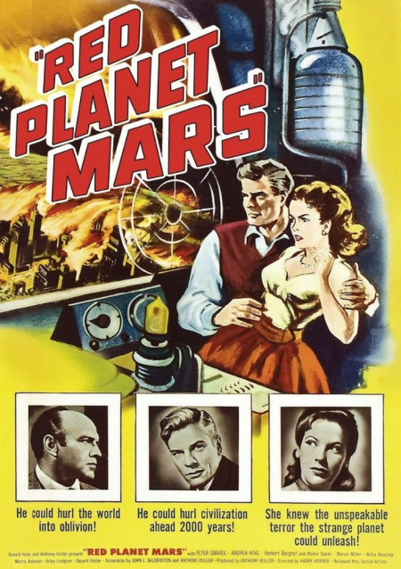 Red planet mars 1956 a