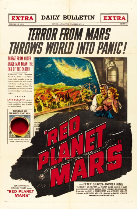 Red planet mars 1956 f