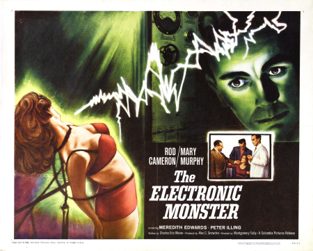The electronic monster 1958 a