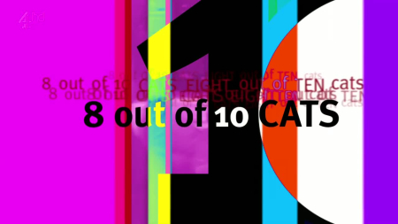 8 out of 10 cats logo